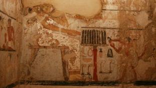 Több mint 4 ezer éves halászó, vadászó főhivatalnok sírját tárták fel Gízában