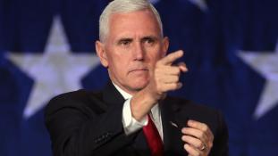 Az amerikai alelnök nem volt hajlandó egy asztalhoz ülni Észak-Korea államfőjével