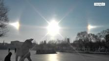 Hamis nap Kína felett – videó