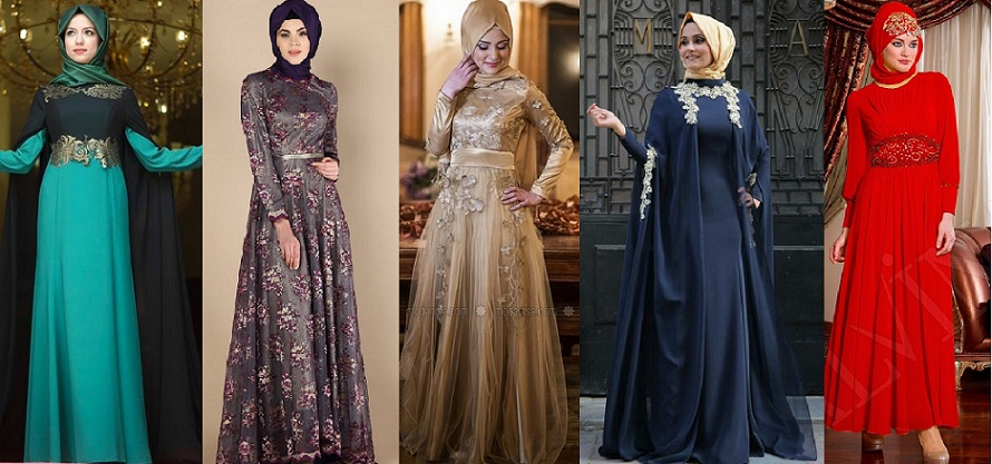Fancy-Party-Wear-Formal-Hijabs-with-Abaya-Collection-2016-2017-29