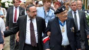 Lengyelország főrabbija kéri Izrael vezetőit: ne bojkottálják az országot!