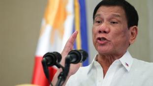 Duterte elnök: lőjétek szét a lázadó nők vagináját!