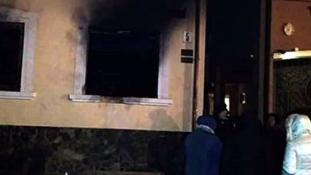 Felgyújtották Ungváron a Kárpátaljai Magyar Kulturális Szövetség irodáját
