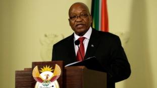 Azonnali hatállyal lemondott Dél-Afrika korrupcióval gyanúsított elnöke