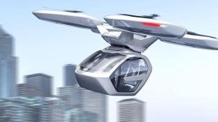 Drónnal repülő autóval kerülné ki a dugókat az Audi