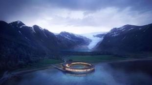 A világ első energiapozitív szállodája épül Norvégiában