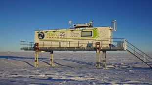 Salátát termesztettek az Antarktiszon