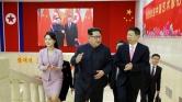 Kínai küldöttség Phenjanban a koreai csúcstalálkozó előtt