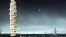 Összecsukható felhőkarcoló a természeti katasztrófák túlélőinek
