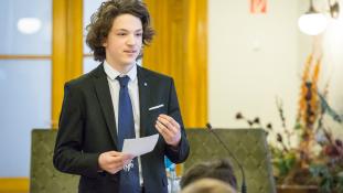 A Római Birodalomtól a Transformersig – ez volt a középiskolai szónokverseny döntőjén