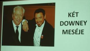 Robert Downey Jr.  nyomában Tatán