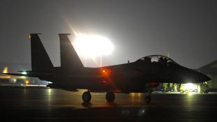Légitámadás  egy iráni támaszpont ellen Szíriában – 14 ember meghalt