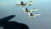 Szimbolikus légicsapás Szíriában