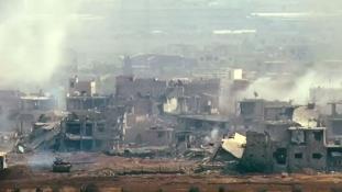 Damaszkuszban véget értek a csaták