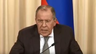 Lavrov: külföldi erők ne támadják Szíria határtérségéből Izraelt!
