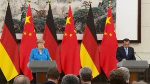 Merkel Pekingben: a német kancellár 11. alkalommal tárgyalt Kínában