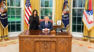 Kim Kardashian a Fehér Házban
