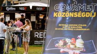 Epres-rebarbarás túrógombóc és ehető csomagolás a Gourmet Fesztiválon