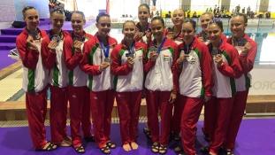 Taroltak a magyar lányok Madridban, a Műúszó Világkupa újabb állomásán