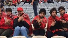 Álszakállban surrantak be a focimeccsre nők Iránban