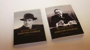 Két magyarra fordított könyvet mutattak be Alijevről az azerbajdzsáni nagykövetségen