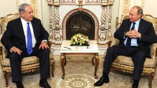 A náci Németországhoz hasonlította Iránt Netanjahu Moszkvában