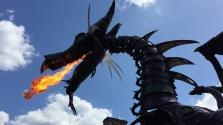 Kigyulladt a Tűzokádó Sárkány a Disney Worldben – videó