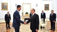 Aszad elnök Szocsiban