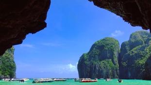 Thaiföld lezárta A partot