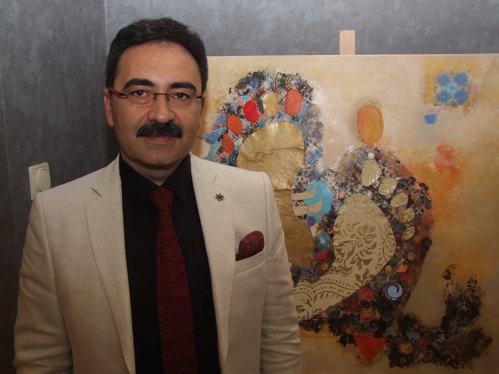 Ilham Enveroglu a kiállító művész (1)
