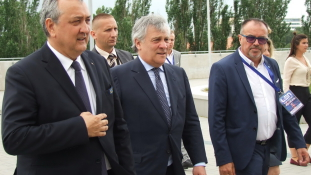 Az Európai Parlament elnöke a Duna Arénában