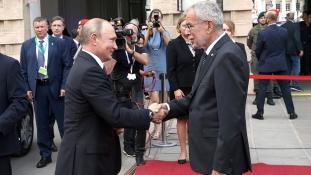 Osztrák elnök: Oroszország Európa része