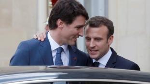 Franciaország és Kanada közösen Trump ellen a G7 csúcson – videó