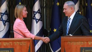 Mélyponton az EU és Izrael viszonya