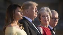 A First Lady bombasiker volt Londonban – Trump pedig elefánt a porcelánboltban