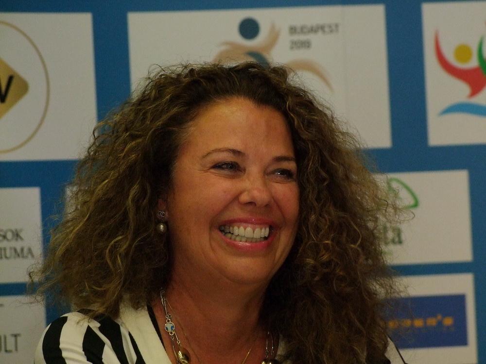 Lisa Schott, a FINA sportági technikai bizottságának elnöke