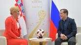 Az elnök asszony a 12. játékos a horvát válogatottban