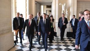 Francia-orosz csúcs Moszkvában