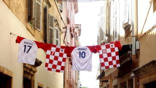 Franciaország – Horvátország 4-2: így szurkoltak déli szomszédaink a válogatottnak – videó