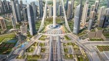 Megdöntik a saját rekordjukat: a világ legnagyobb gigaplázája épül Dubajban