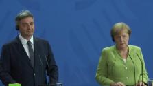 Merkel nemet mond a határrevízióra a Balkánon