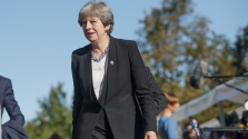Táncra perdült a brit miniszterelnök asszony Fokvárosban – videó