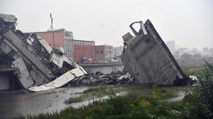 2,5 milliárd eurót követel a genovai katasztrófáért a kormány Itáliában