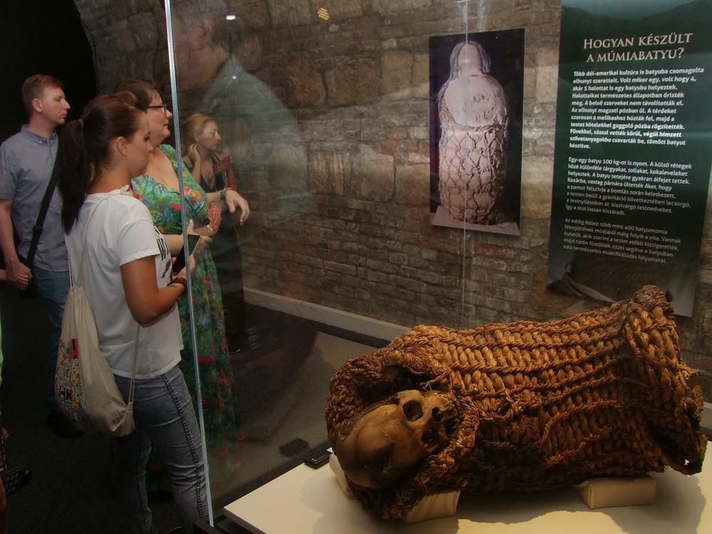 boliviai kosár múmia