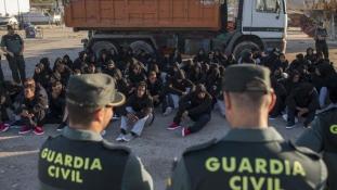 3 millió eurós uniós segély Spanyolországnak a bevándorlás miatt