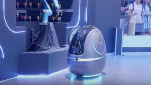 Kínában a jövő hónaptól már tesztelik a londiner robotokat