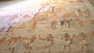 4000 éves sírt nyitottak meg a nagyközönség előtt Egyiptomban