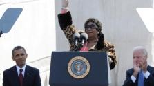 Királynői temetést kapott Aretha Franklin – videó