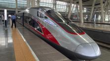 200 kilométeres sebességgel száguld a szuper-gyorsvonat Hongkongból északra