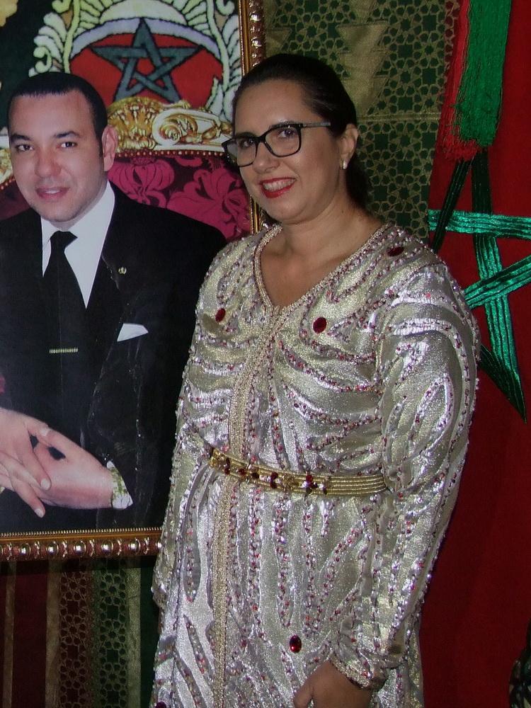 Karima Kabbaj nagykövetasszony